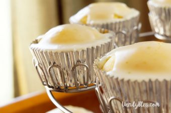 Triple Citrus Cupcakes with Citrus Glaze