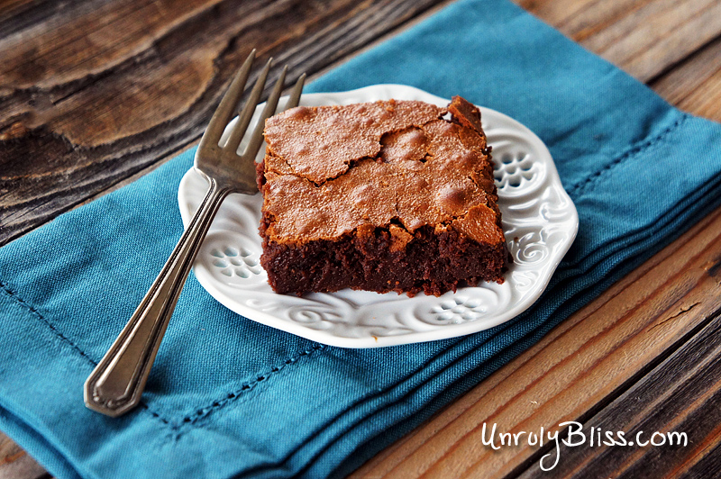 Chobani's Black Cherry Brownies