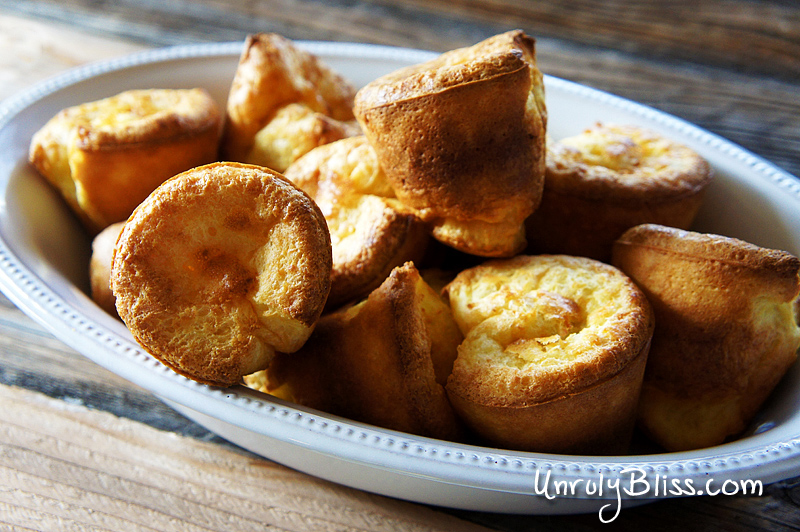 Easy Popovers from UnrulyBliss.com