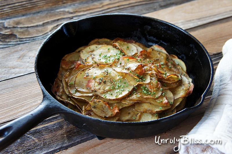 Garlic Potato Cake