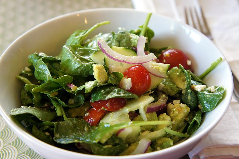 Creamy-Crunchy Avocado Salad