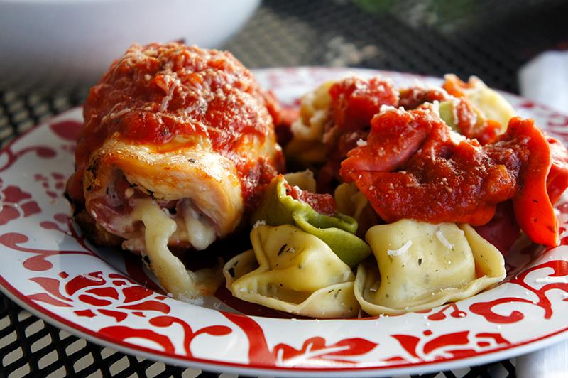 Chicken Involtini with Prosciutto and Basil