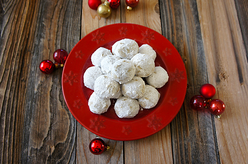 Chai Snowball Cookies and the Great Food Blogger Cookie Swap