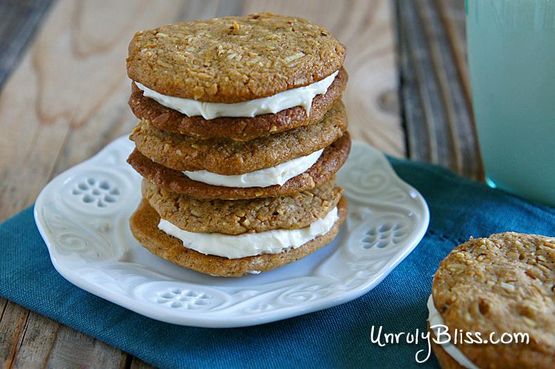 Whole-Wheat Almond-Butter Sandwich Cookies